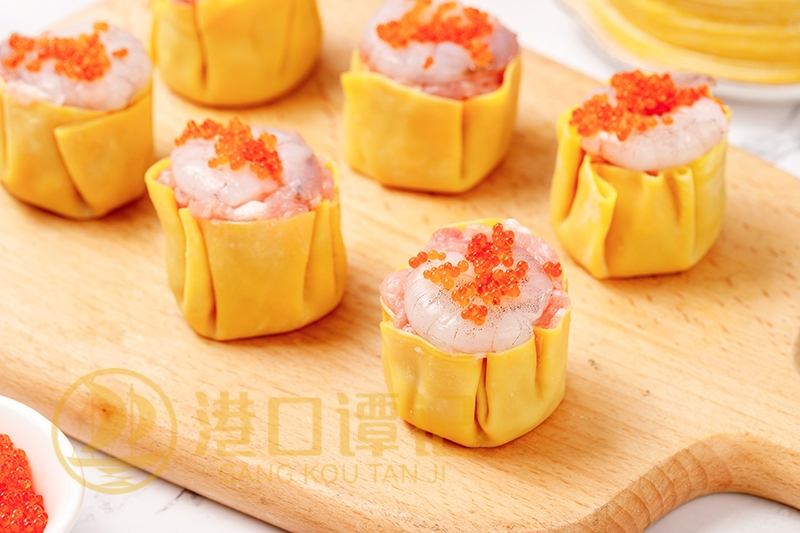 鲜虾蟹籽干蒸